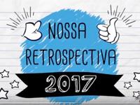 Vídeo com imagens sobre o ano de 2017 na Novo Espaço